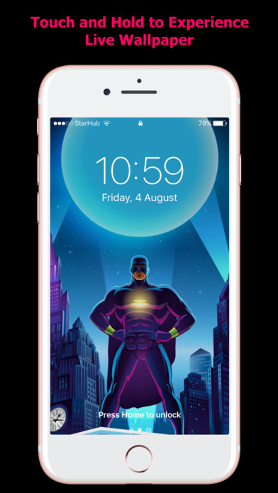 HD Live Wallpapers for iPhones screenshot 3