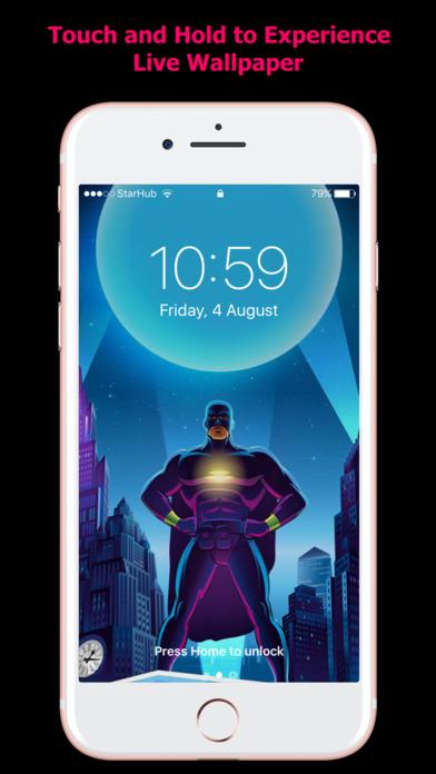 HD Live Wallpapers for iPhones screenshot 3