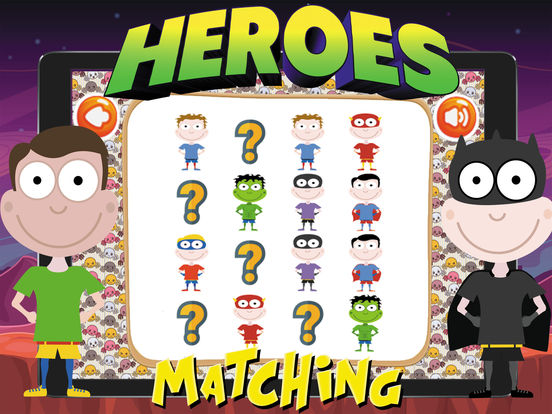 Super Heroes Card Matching screenshot 10