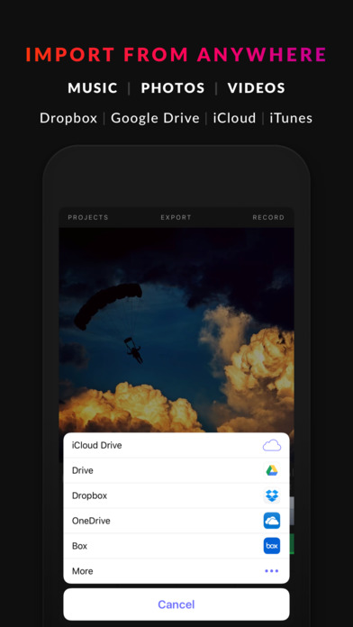Blink - Real Time Video Editor 앱스토어 스크린샷