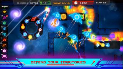 Galaxy Glow Defense screenshot 3