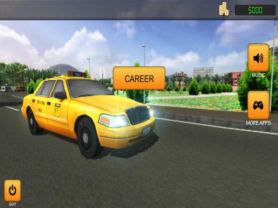Taxi Simulator 2017: City Car Driving screenshot 8