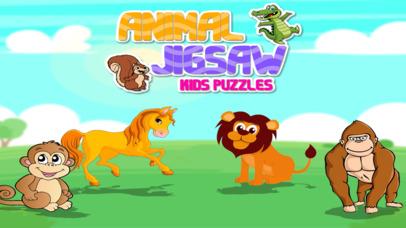Animal Jigsaw Kids Puzzle Pro screenshot 1