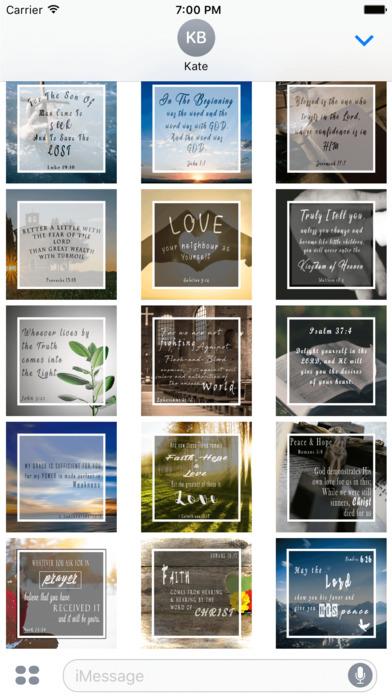 Christian Holy Bible Scriptures & Verses Stickers screenshot 2