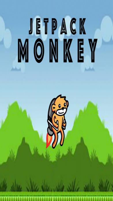 Jetpack Monkey Ad Free Screenshot 1