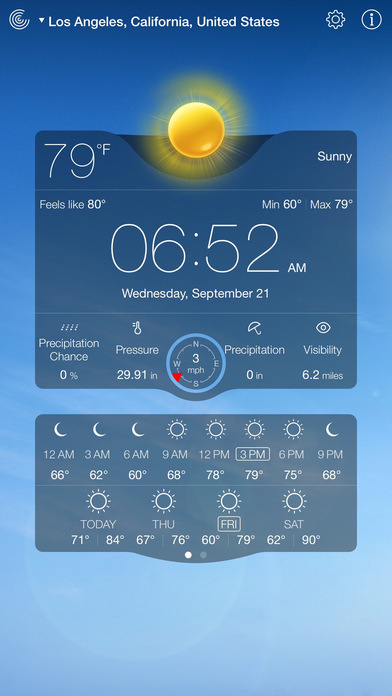 Screenshot #8 for Weather Live - Weather Forecast & Alerts