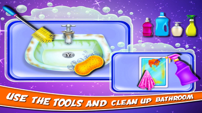 Bathroom Clean Up Game screenshot 3