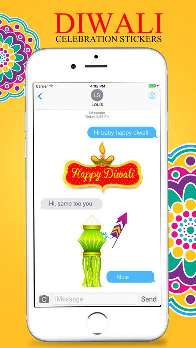 Diwali Stickers Pack For iMessage screenshot 4