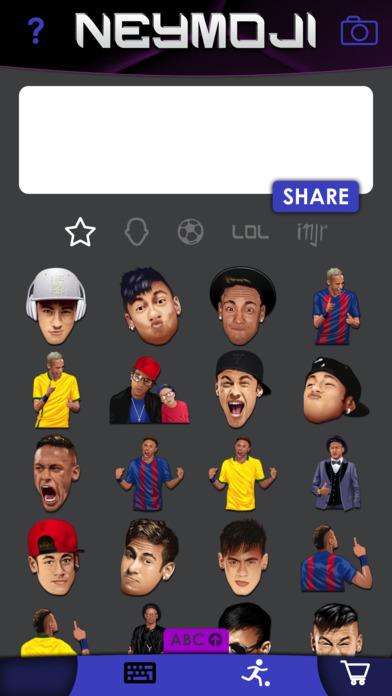 Neymoji - Official Neymar Stickers screenshot 2