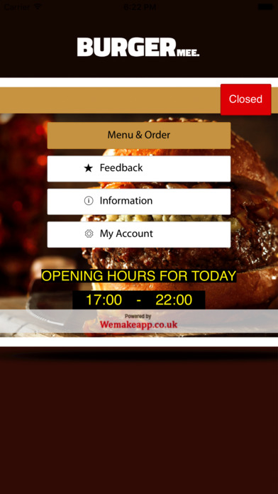 Burger Mee Worthing screenshot 1