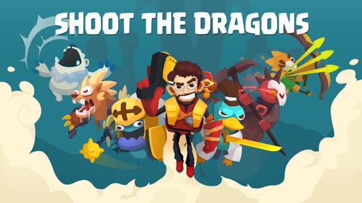 Shoot the Dragons - Top Multiplayer SIDEWAYS SHOOT Screenshot