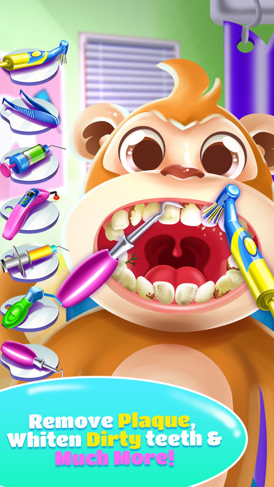 Pet Dentist Doctor Game! screenshot 4