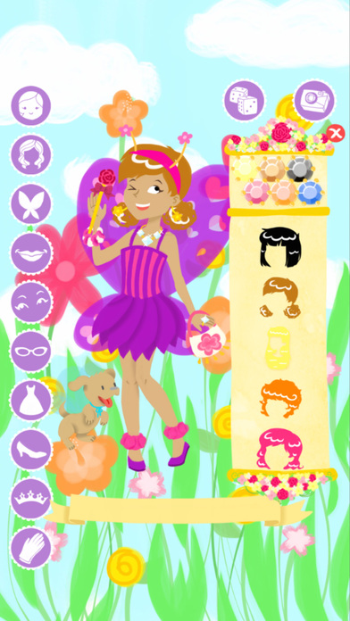 Fairy Fashion Show Dress Up Gold Screenshots