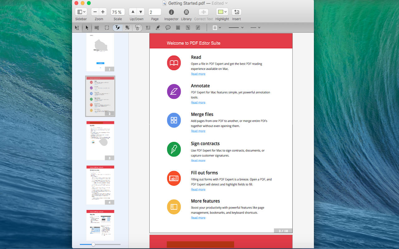 how to take notes on a pdf mac