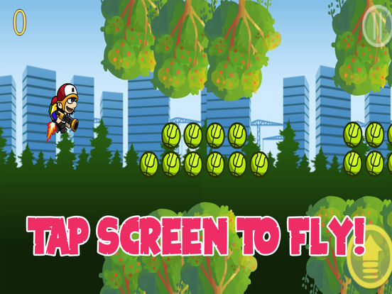 Jetpack Boy In The Forest screenshot 6