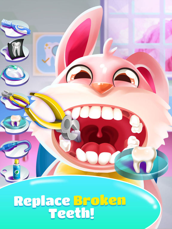 Pet Dentist Doctor Game! screenshot 7