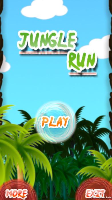 jungleRun-nija screenshot 1