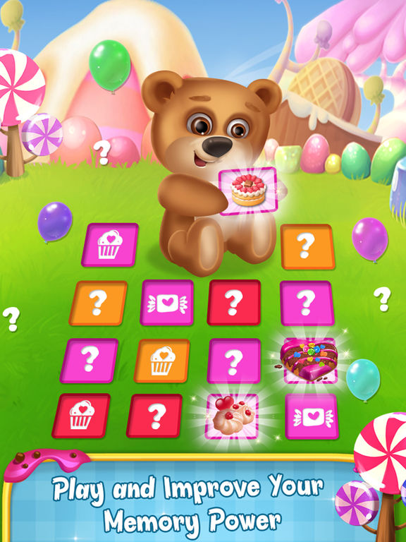 Memory Game : Cake and Candy screenshot 6