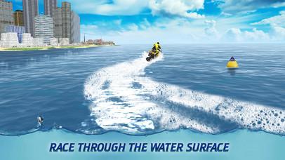 Surfing Bike Water Wave Racing screenshot 2