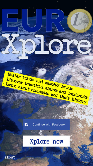 EuroXplore screenshot 1