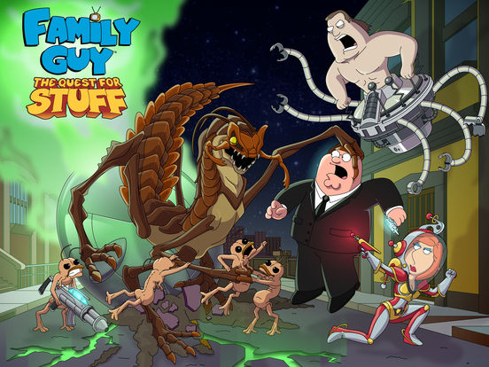 Family Guy: The Quest for Stuffscreeshot 1