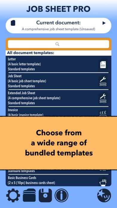 Job Sheet Pro Screenshots
