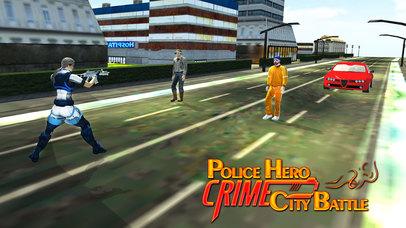 Police Hero Crime City Battle screenshot 2