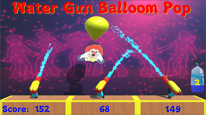 Water Gun Balloon Pop screenshot 1