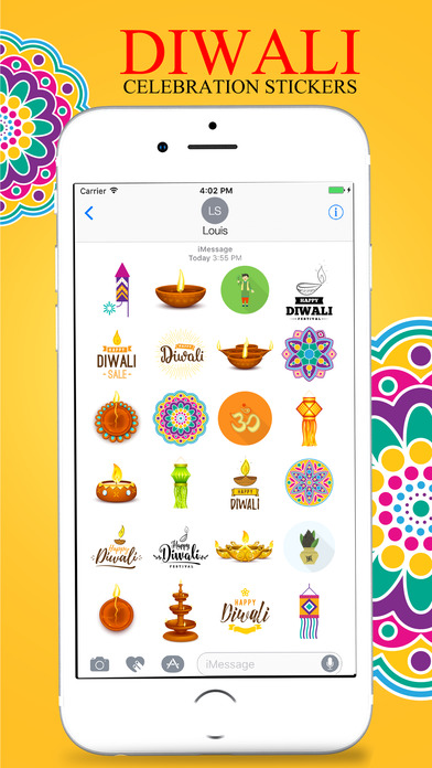 Diwali Stickers Pack For iMessage screenshot 3
