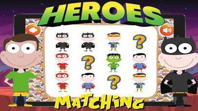 Super Heroes Card Matching screenshot 4