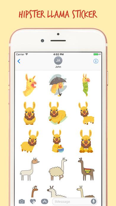 The Art Llama Stickers Pack screenshot 4