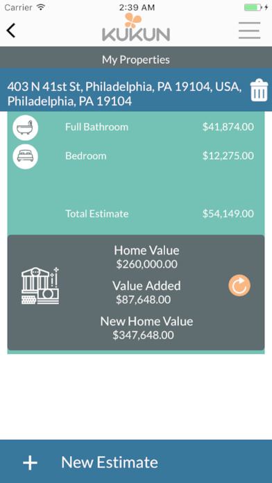 kukun home remodel costs amp roi on the app store smith home remodel improvement amp repairs on the app