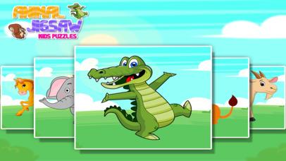 Animal Jigsaw Kids Puzzle screenshot 5