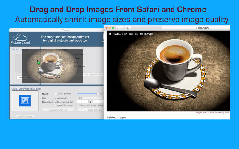 PictureCloud Desktop Screenshot - 2