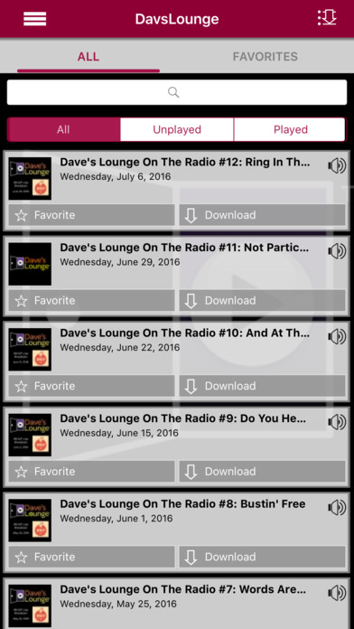 Dave's Lounge – Downtempo Music App iPhone Screenshot 2
