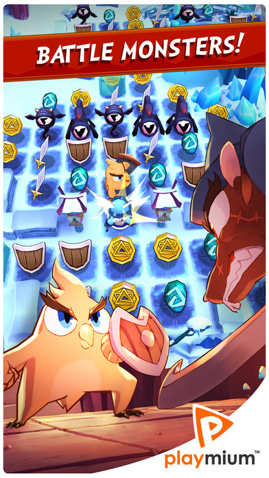 Mighty Match - Puzzle Adventure Screenshot