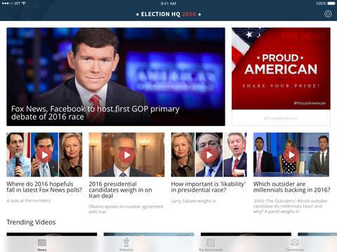 Fox News Election HQ 2016 screenshot 6