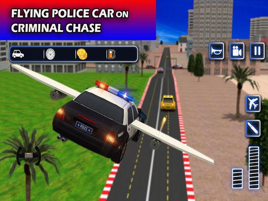Flying Future Police Cars Pro screenshot 7
