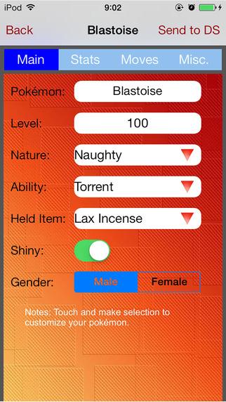 Pokémon Builder & Creator Studio for Pokemon X, Y, Omega Ruby, Alpha Sapphire on Nintendo 3DS Screenshots
