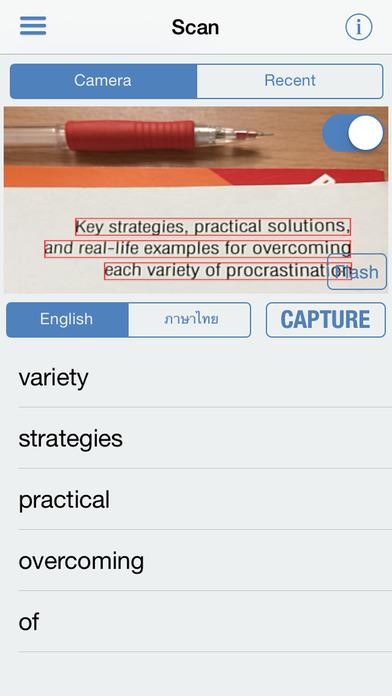 Thai Dictionary Free iPhone Screenshot 2
