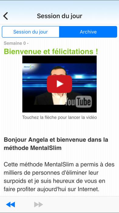 MentalSlim avec Jean-Michel Gurret (gratuite) iPhone Screenshot 2