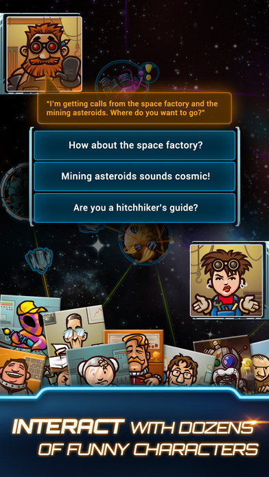 Galaxy Trucker Pocket Screenshots