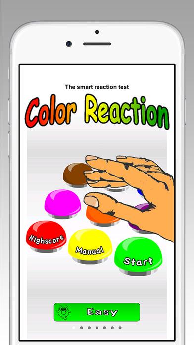 ColorReaction iPhone Screenshot 1