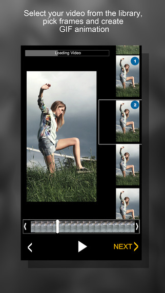 GIFULL .Gif Maker. Video to Gif Converter,GIF Explorer, Animated sms messaging Screenshots