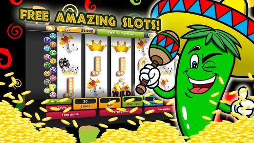 free jumping jalapeno slot machine