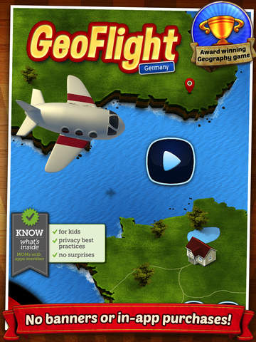 geoflight germany fast, easy and fun geography quiz for
