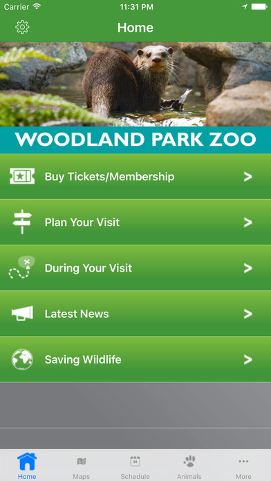 Woodland Park Zoo iPhone Screenshot 2