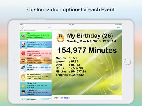 Reminder & Countdown Pro Screenshots