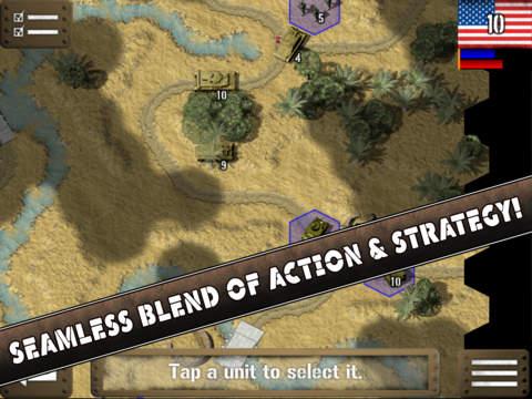 Tank Battle: North Africa Screenshots