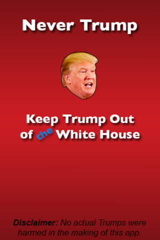 Never Trump - Free Addicting Tap Game screen